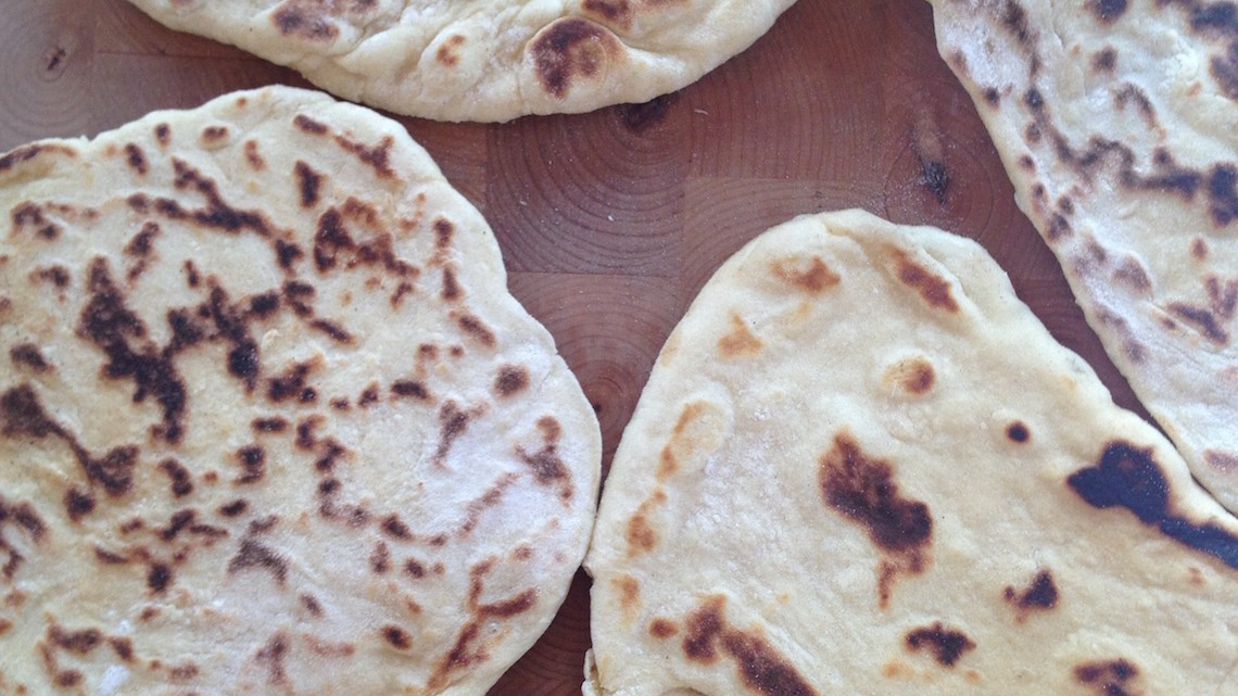 Fladenbrote Naan