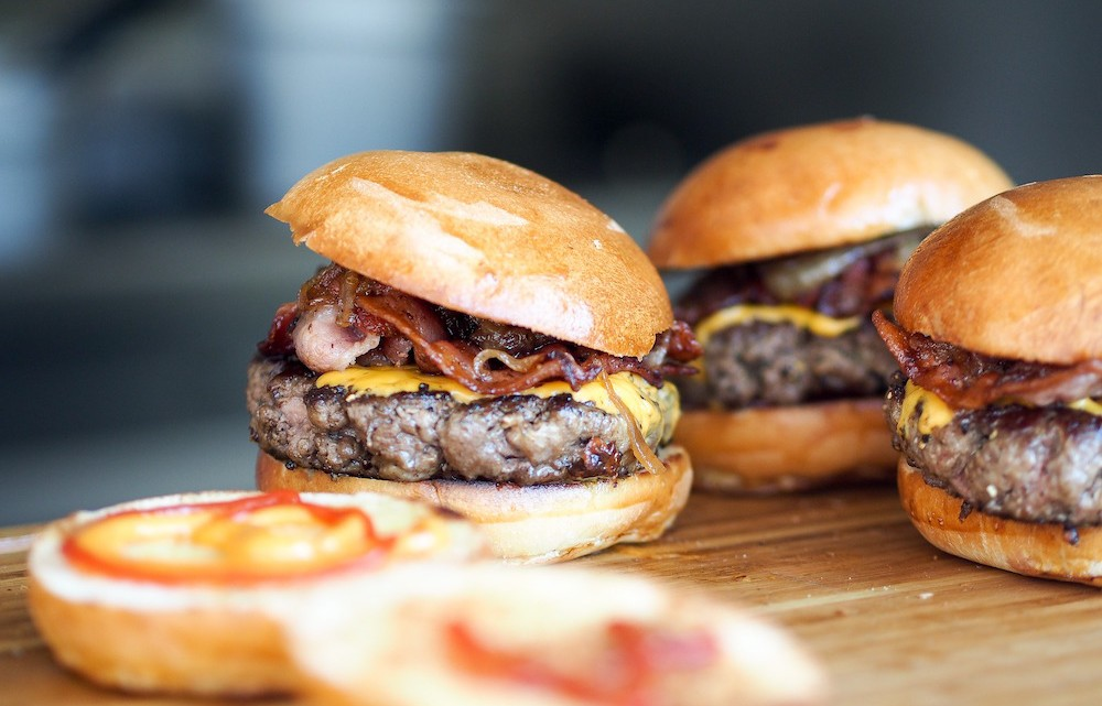 Burger auf Brett, Burger-Werbespots